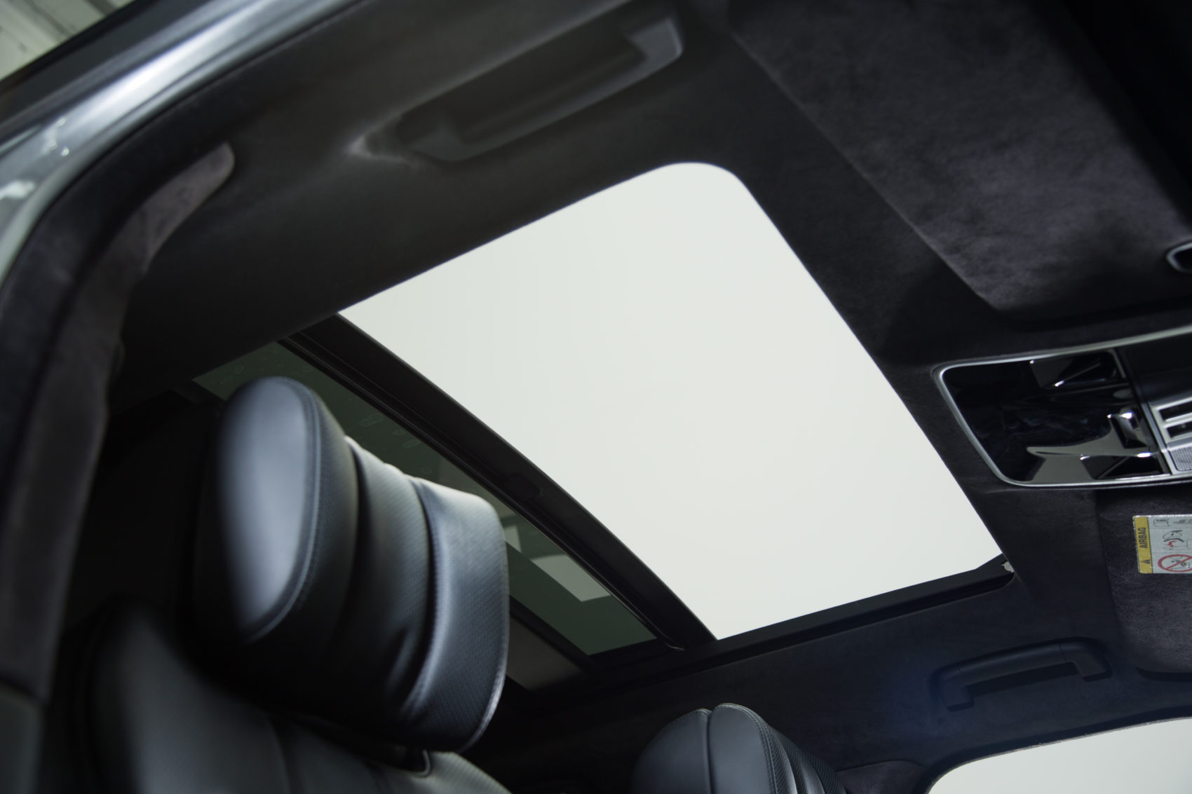 Sunroof in luxurious SUV